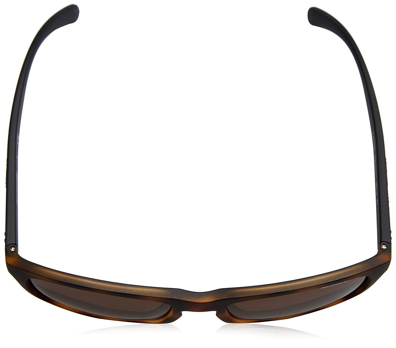 Arnette Mens Burnside Polarized Rectangular Sunglasses MATTE BLACK 56 mm 0AN4236