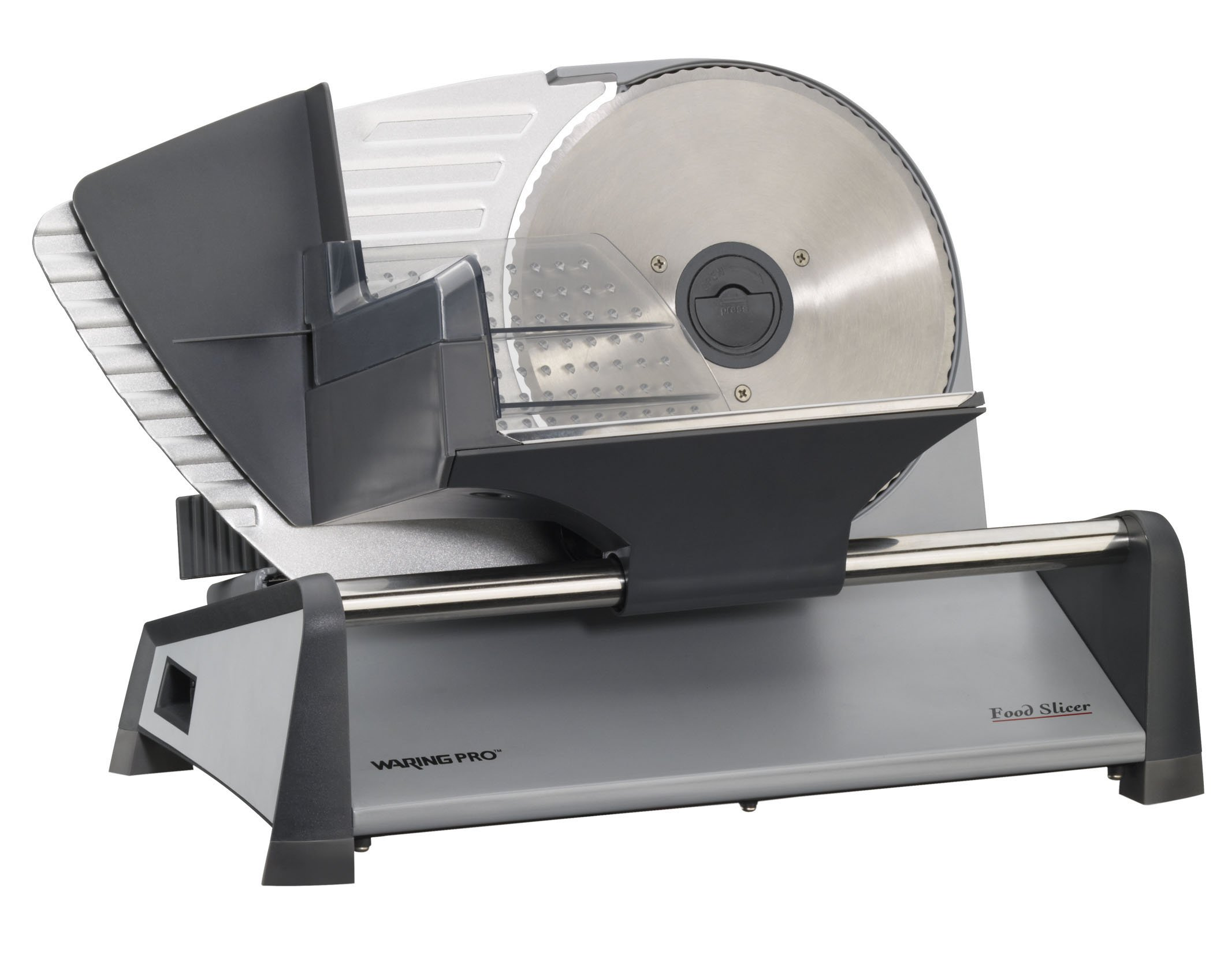 Waring Pro FS155AMZ Professional Food Slicer, Stainless Steel by Waring