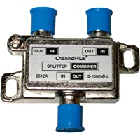 Linear 2512 ChannelPlus DC & IR Passing 2-Way Splitter/Combiner, SILVER