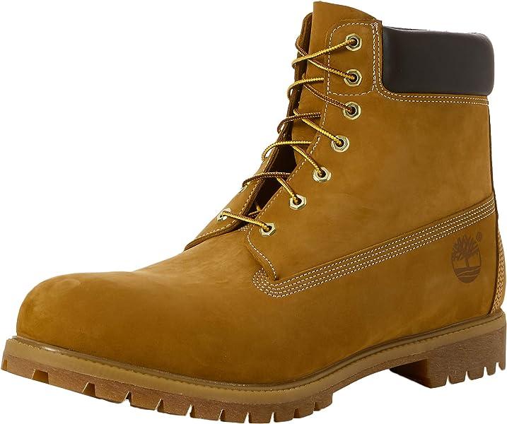 6 Inch Premium Boot, Men's Low Trekking and Walking Shoes, Yellow (Wheat Nubuck), 10 UK (44.5 EU)
