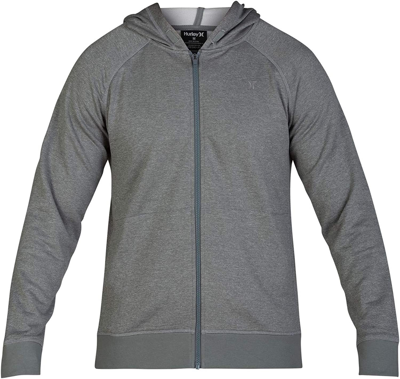 Hurley Men's Nike Dri-fit Disperse Zip Fleece Hoodie: Clothing