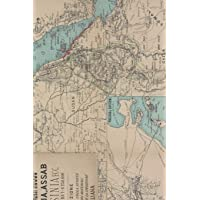 1887 Map of Egypt, Sudan, Eritrea, Ethiopia, Somalia, the Red Sea, and Saudi Arabia - A Poetose Notebook / Journal…