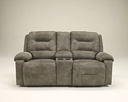 Lovely Ashley Furniture Signature Design   Rotation Recliner Loveseat With Console    Pull Tab Manual Reclining Sofa