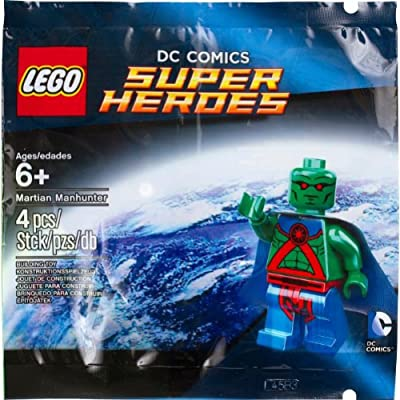 Lego Super Heroes Minifigure: Martian Manhunter 5002126: Toys & Games
