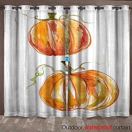 Amazon Com Blountdecor Home Patio Outdoor Curtain Two