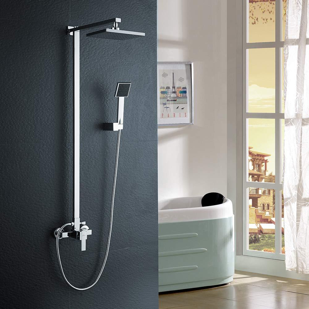 rame AuraLum KalamoCG1017#NVT802 Colonna doccia con doccetta a pioggia colore