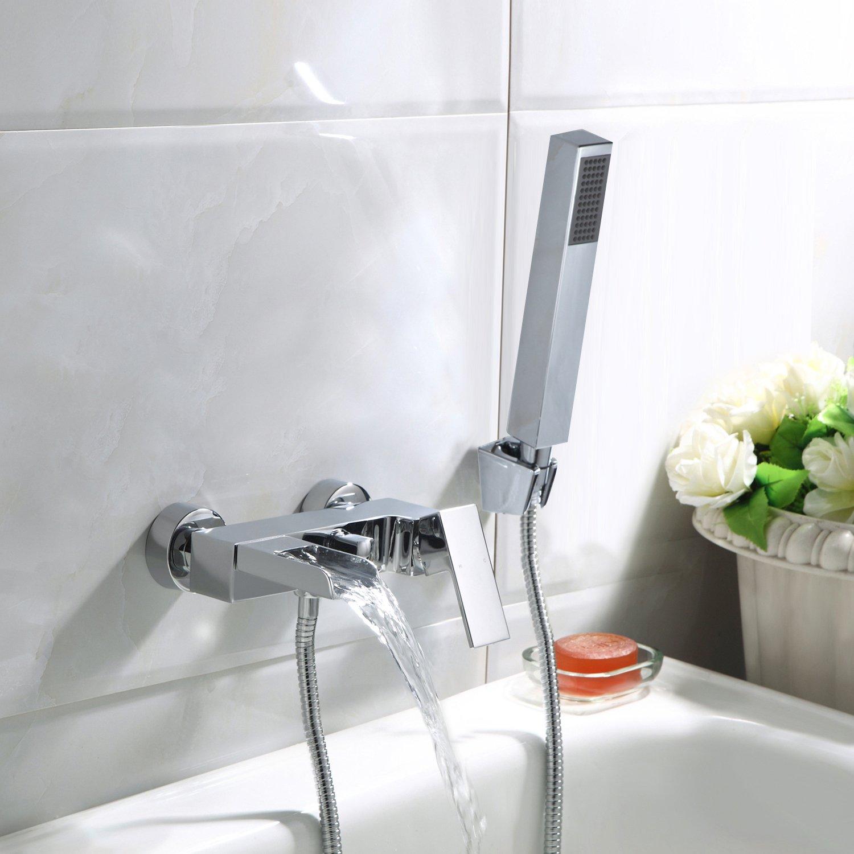 Bad Wannenarmatur Einhebel Wannenmischer Armatur Wasserhahn