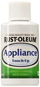 Rust-Oleum 203002 Appliance Touch Up Paint, 0.6 Oz Bottle, Biscuit, Solvent Like, Liquid.6-Ounce