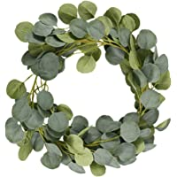 2M Artificial lvy Eucalyptus Garland Artificial Hanging Plants Fake Plants Ivy Vine Handmade Garland Leaves Ivy Greenery…