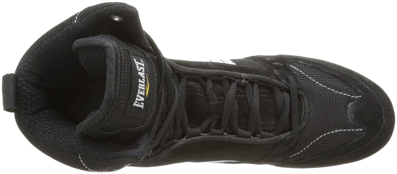 Everlast 8003BK42 - Bota alta de boxeo unisex, color negro, talla 42: Amazon.es: Deportes y aire libre