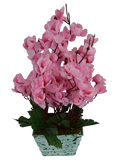 Buy Fancy Mart Artificial Blossom Flower Plant Pink Color 12 Inchs