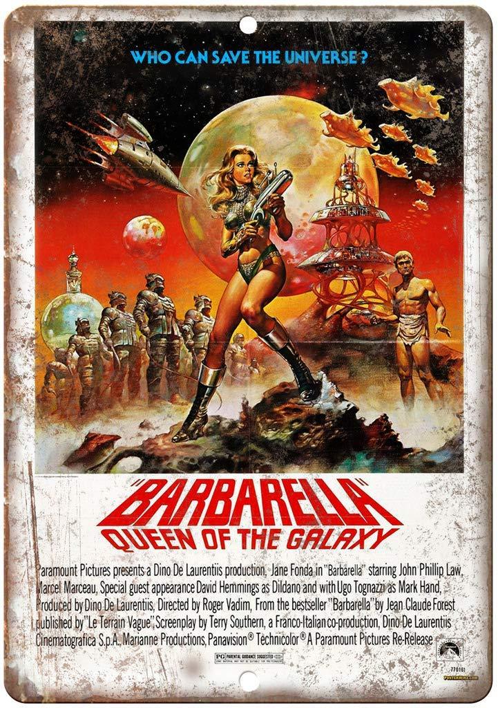 Barbarella Queen Movie Póster de Pared Metal Creativo Placa ...