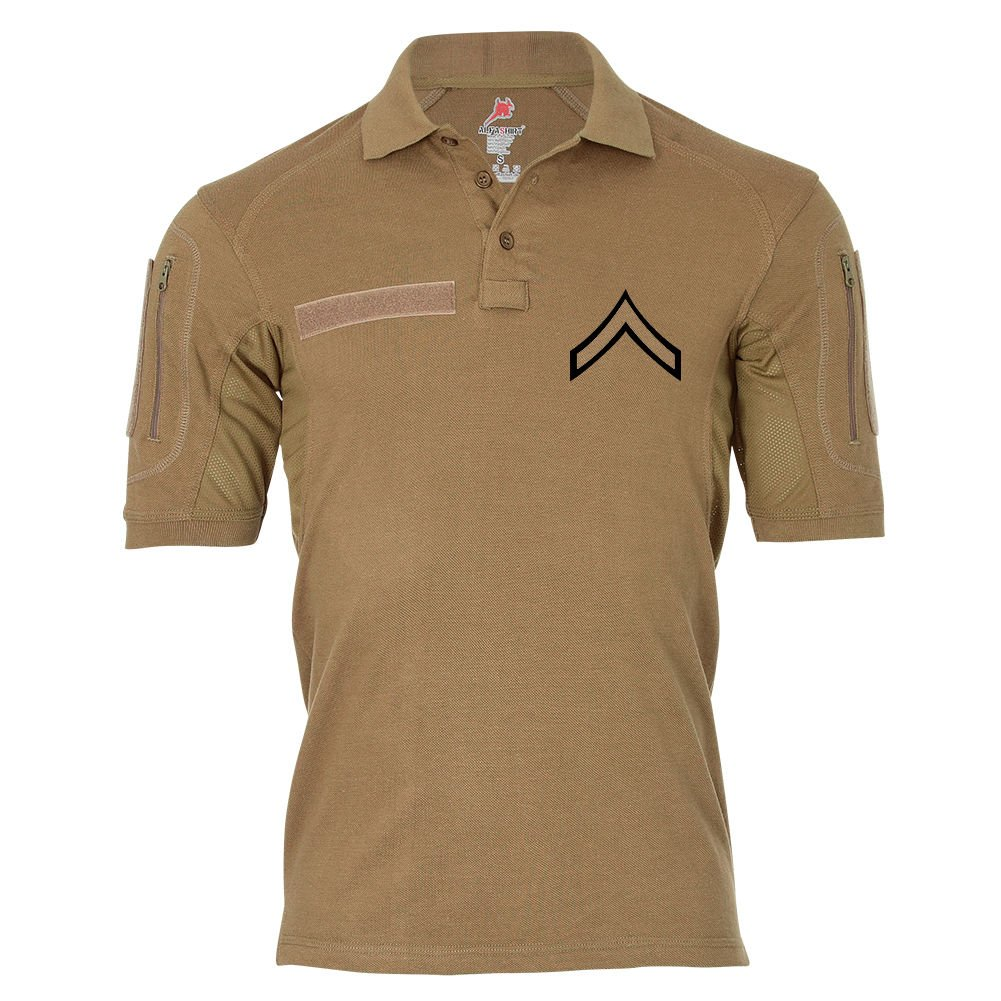 Tactical Poloshirt Alfa - Private First Class United States Marine Corps Dienstgrad USA  19044