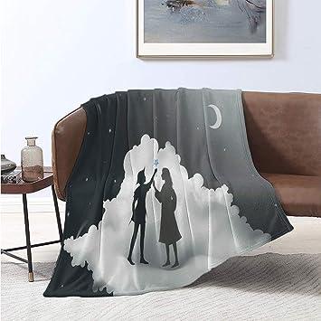 Amazon.com: Luoiaax Neverland Luxury Special Grade Blanket ...