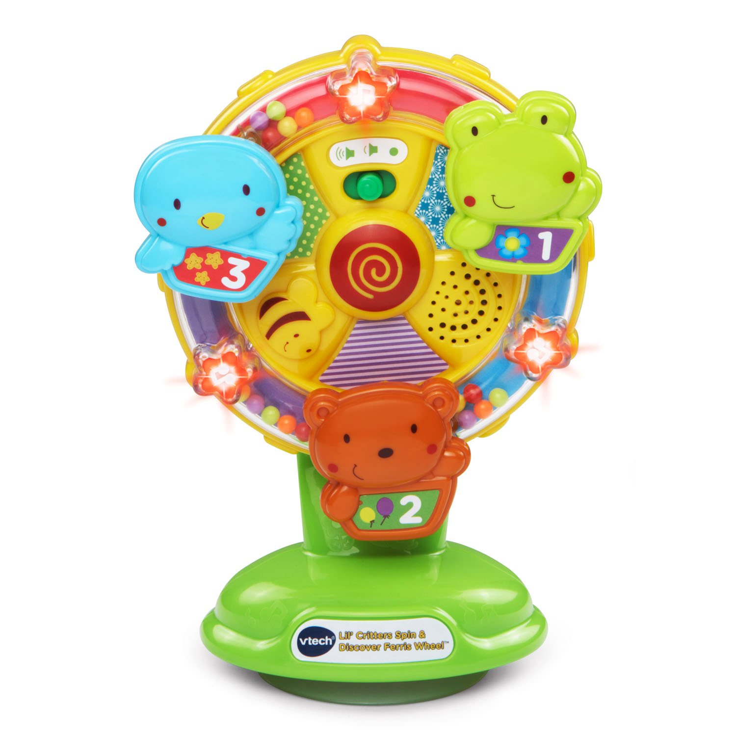 VTech Baby Lil' Critters Spin and Discover Ferris Wheel (Frustration Free Packaging) by VTech