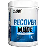 Evlution Nutrition Recover Mode Post Workout with BCAA's, Creatine, Glutamine, Beta-Alanine, L-Carnitine, Vitamins and More, 30 Servings (Furious Grape)