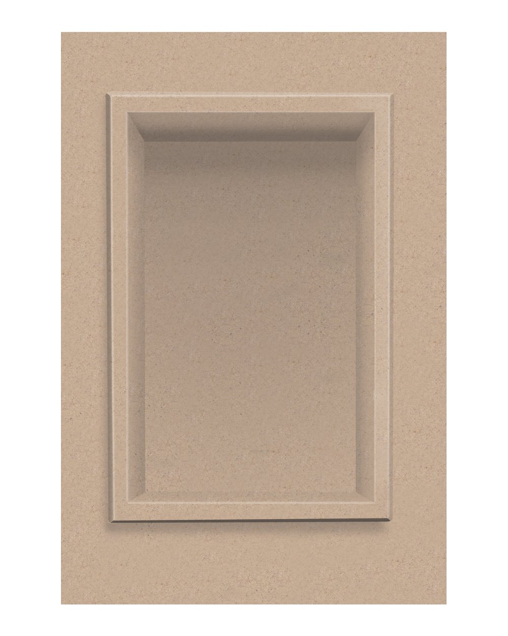 Transolid ACCESS0001-A4 Decor 7-1/2 x 11-Inch Recessed Shampoo Caddy, Sand Castle by Transolid