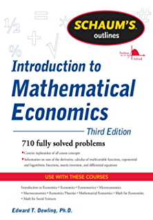 Amazon advanced macroeconomics 4th edition the mcgraw hill schaums outline of introduction to mathematical economics 3rd edition schaums outlines fandeluxe Gallery