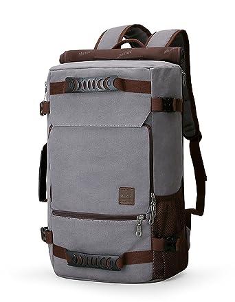 f568107c7 Muzee New Backpack Men Canvas Backpack Large Capacity Bag for Travel  Backpack 15.6inch Laptop Backpack