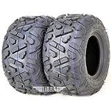 Set of 2 WANDA ATV Tires 18X9.5-8 18X9.5X8 4PR Big Horn Style
