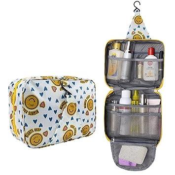 bce48310ed12 Amazon.com : YABINA Portable Hanging Toiletry Bag/ Portable Travel ...