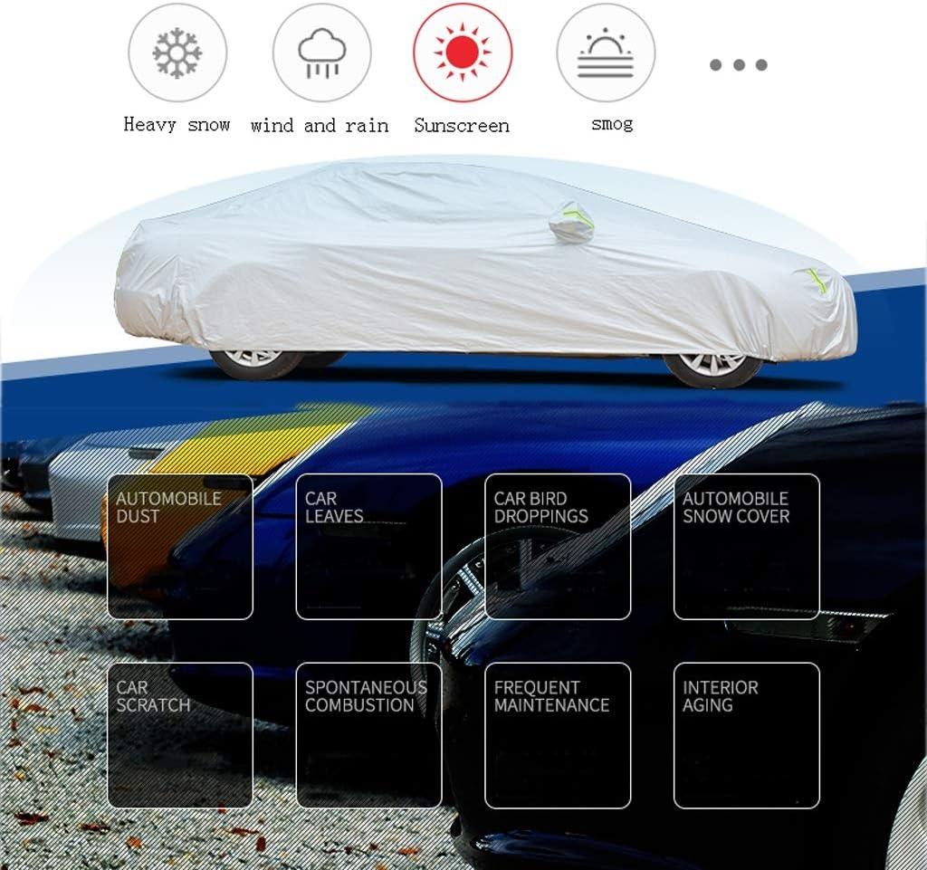DUWEN Compatible avec la Couverture de Voiture Lotus Exige Sport 350 Housse de Protection ext/érieure Oxford en Tissu b/âche de Protection for Voiture Color : Silver