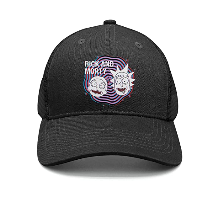 167626fb418f5 Man Creative-Design-Rick-and-Morty- Snapback hat Trucker Hats Baseball Caps  at Amazon Men s Clothing store
