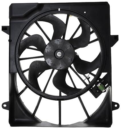 Vdo Fa70533 Radiator Fan Assembly Amazon In Car Motorbike