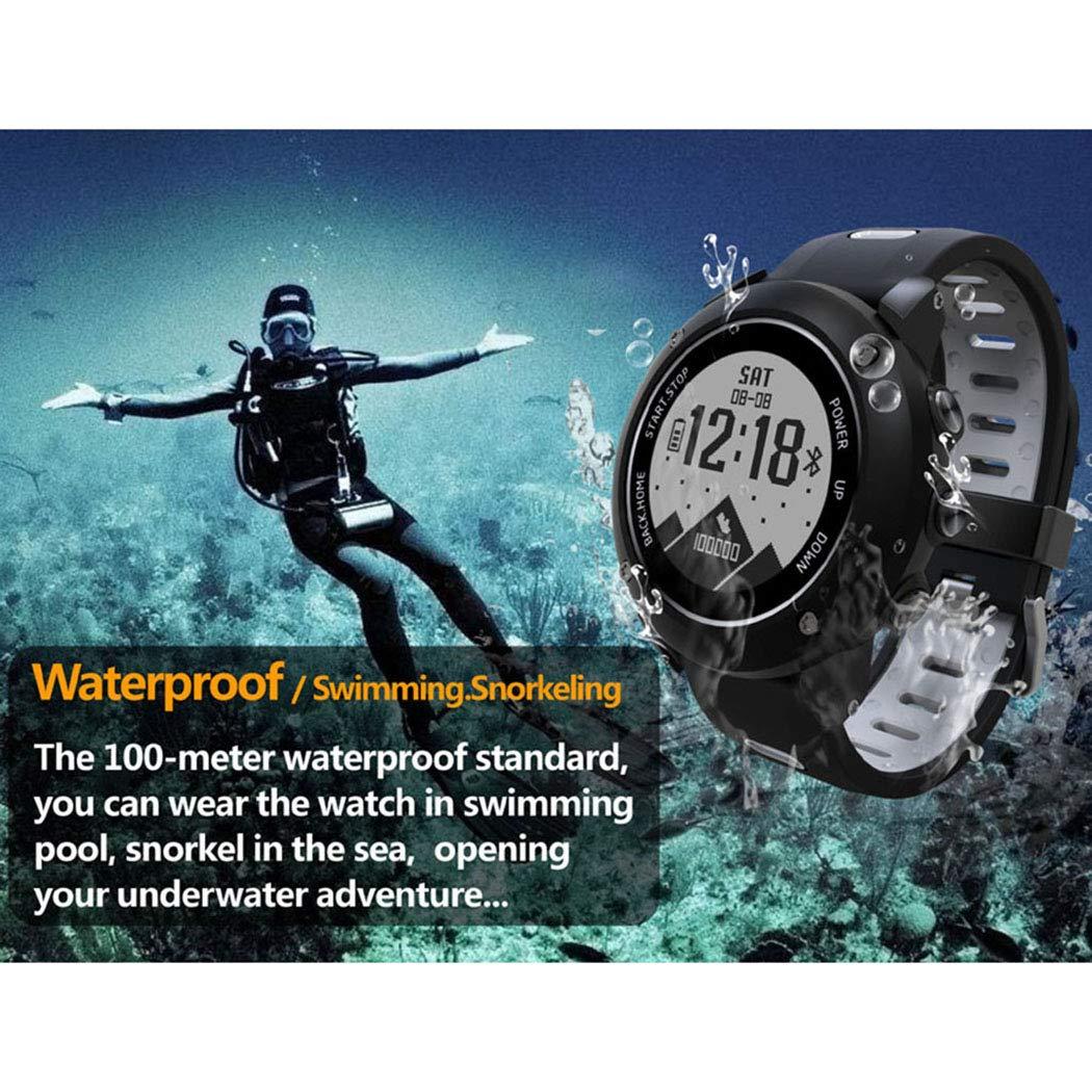 BAIYI utomhus smart sportklocka GPS fitness puls armband multifunktionell smart klocka b