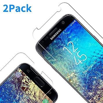 Protector De Pantalla para Galaxy S7, Ultra Transparente Vidrio Templado 9H Dureza 3D Touch Compatible Anti Arañazos, Anti de Aceite, Anti de Burbujas ...