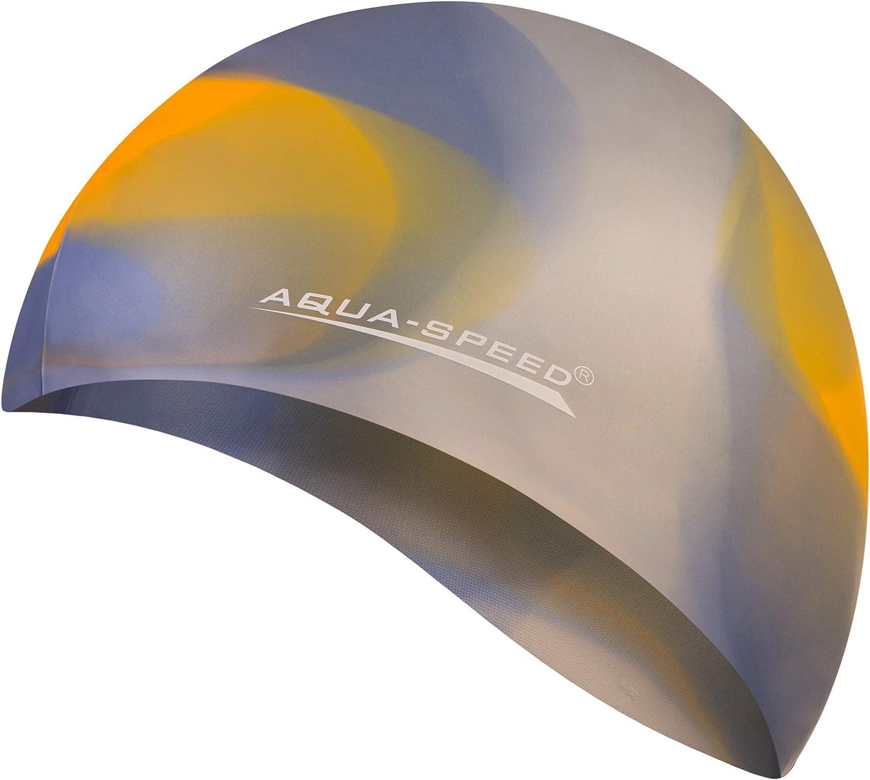 Nataci/ón Silicona Colorida Aqua Speed/® Bunt Gorro de ba/ño