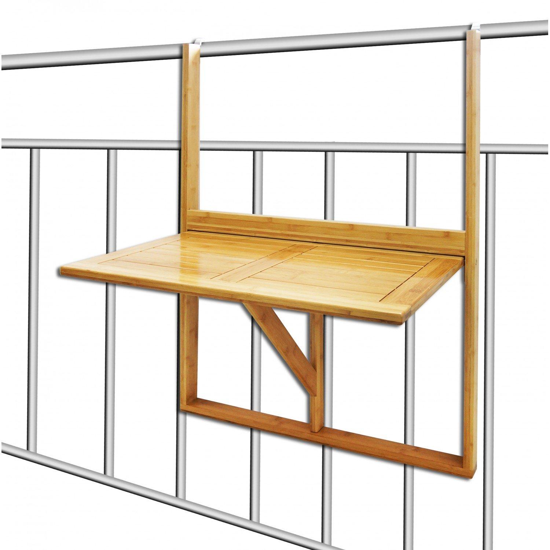 top tagre de balcon design en bambou petite tablette duappoint pliante suadapte tout type de. Black Bedroom Furniture Sets. Home Design Ideas