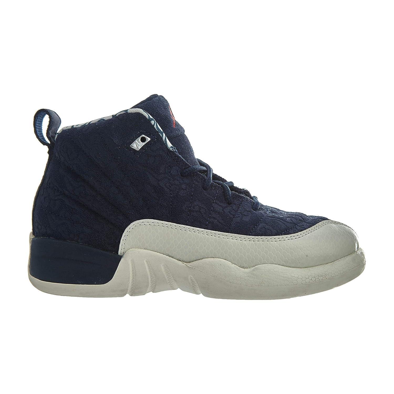 94fb44679d5 Amazon.com | Jordan 12 Retro PRM Little Kids | Sneakers