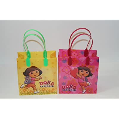 24PC DORA THE EXPLORER GOODIE BAGS PARTY FAVOR BAGS GIFT BAGS: Toys & Games