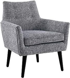 Linon Ava Black Chair