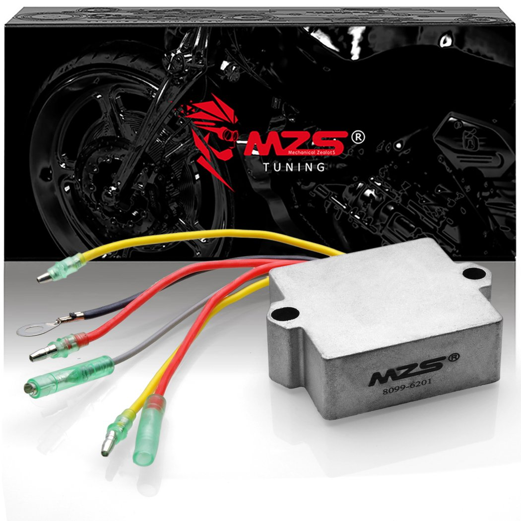 MZS Voltage Regulator Rectifier for Mercury Mariner Outboard 883072T 815279-3 815279-5 815279T 830179-2 830179T 854515 856748 883072