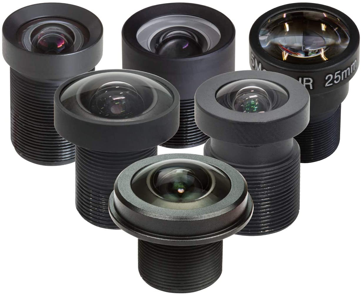 Arducam 8-50mm C-Mount Zoom Lens for IMX477 Raspberry Pi HQ Camera with C-CS Adapter