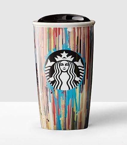 Double Fl Wall Starbucks Oz11051190 Paint Traveler12 Drips dxBeoCr
