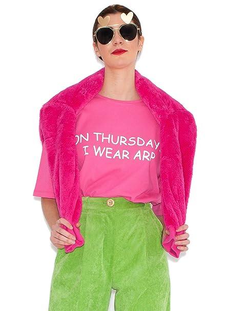Agatha Ruíz de la Prada Camiseta Fucsia Jueves (38)