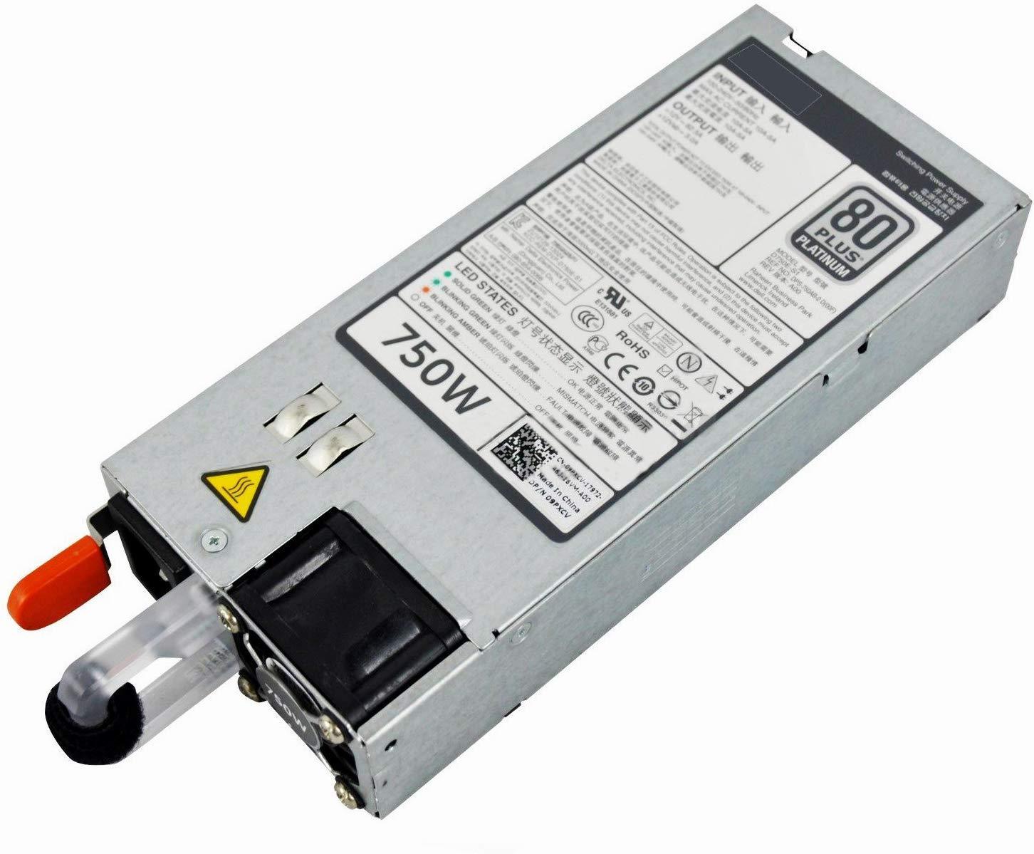 E750E-S0 DELL 750W 80 PLUS PLATINUM POWER SUPPLY FOR POWEREDGE R620 R720