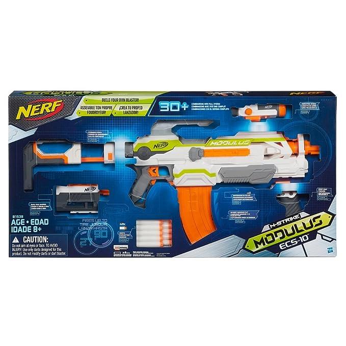 amazon com nerf n strike modulus ecs 10 blaster toys games