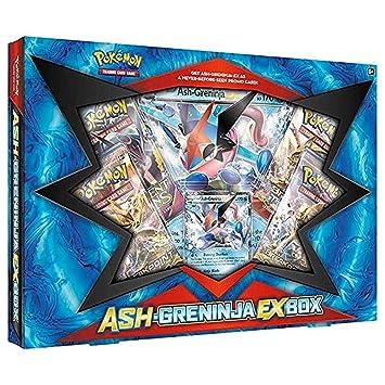 pokemon tcg ash greninja ex trading card box amazon co uk toys games