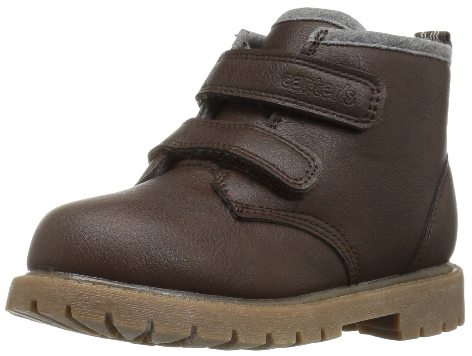 Carter's Boys' Gyor Fashion Boot, Brown, 5 M US Toddler