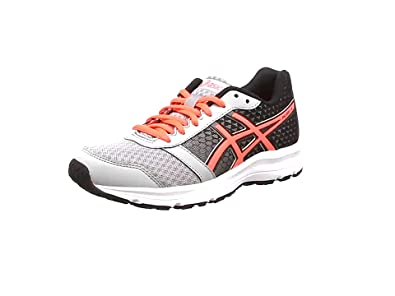 Asics Patriot 8, Damen Laufschuhe, Grau (Silver Grey/Flash Coral/Black