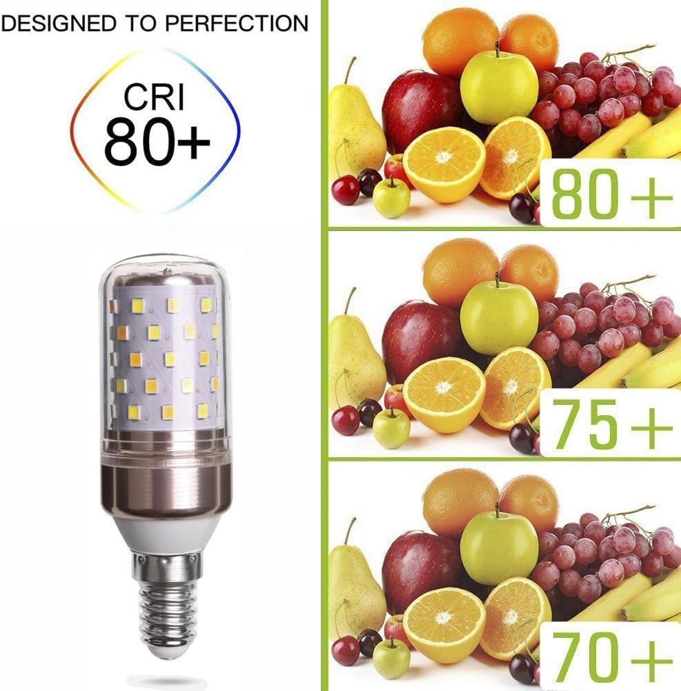 LED E14 Glühbirne 12W / Ersetzt 80W / 823 Lumen / 3000 Kelvin warmweiß - 6er-Pack E14-warmweiß 3 Stück