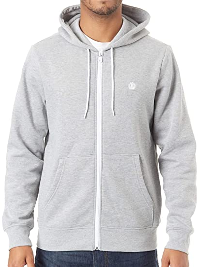 Element Hombre Cornell Classic Zip Hoodie Felpa con Cappuccio Grey Heather S