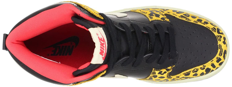 d08123f96eef Amazon.com | Nike Wmns Dunk High Skinny Leopard - Black Dark Gold (429984- 011) womens Shoes | Fashion Sneakers