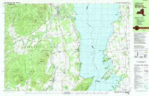YellowMaps Willsboro NY topo map, 1:25000 Scale, 7.5 X 15 Minute, Historical, 1980, Updated 1980, 24.1 x 37.5 in
