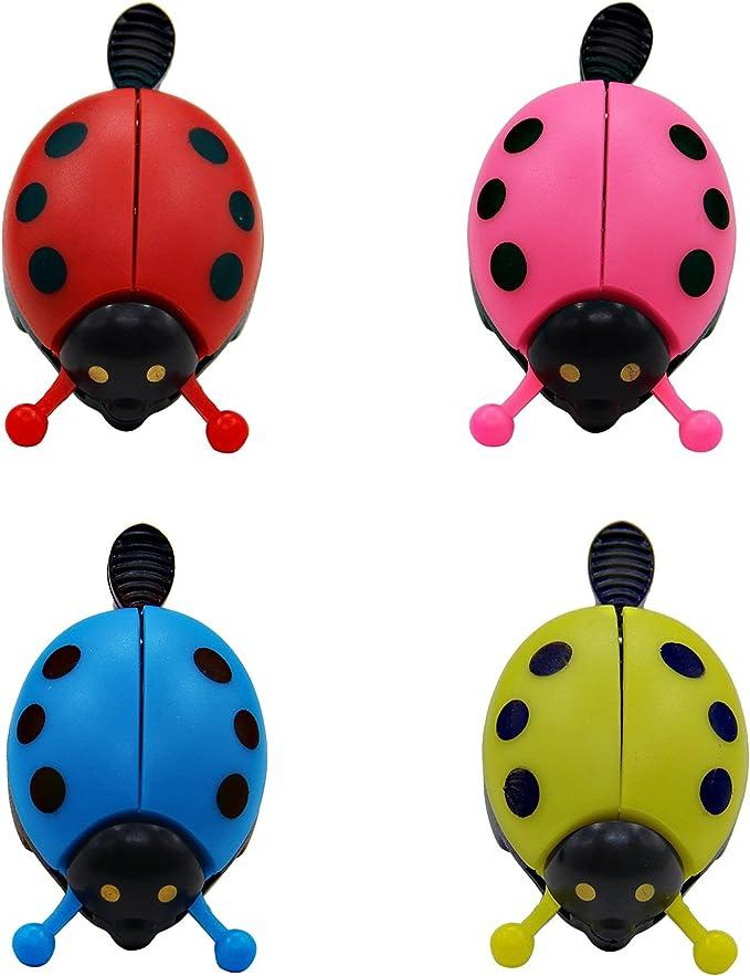 Cute Beetle Ladybug Kids Bike Bicycle Cycling Handlebar Bell Ring Horn