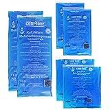 COM-FOUR® Pack ahorro de compresas multiusos, 3tamaños distintos, frías y calientes, aptas para microondas, 2 pequeñas, 2 medianas, 2 grandes